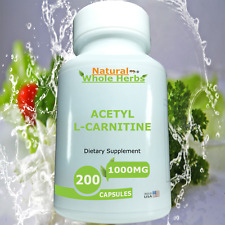 Acetyl L-Carnitine - Supports Energy Metabolism in the Brain-Natural Whole Herbs