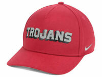 USC Trojans Nike NCAA Local DNA Verbiage Swoosh Flex Cap NWT Adult One Size Hat