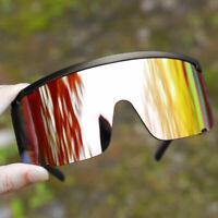 Brand Oversized One Piece Shield Sunglasses Men's Women Outdoor  Sport Goggles