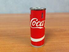 Vintage Coca Cola Cigarette Lighter + Vintage Coca Cola Matchbox