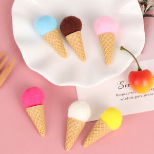 6pcs/set Creativity Simulation Ice Cream Photography Props  for Home Party *P