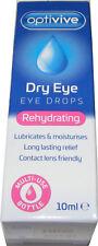 Optivive Rückfettend Augentropfen 10ml Lindert & Müde Rot oder Trockene Augen