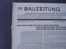 1933 Bauzeitung 16 / Wohnungsbau Nürnberg