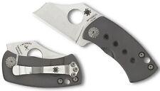SPYDERCO Jonathan McNees Mcbee Folding Knife Wharncliffe Plain Blade C236TIP NEW