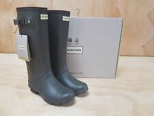 Hunter Wellies Field Huntress Wellington Boots Slate Size 4 UK / 41 EU