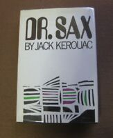 DR. SAX by Jack Kerouac - 1st HCDJ 1959 Grove Press - Beat - fine