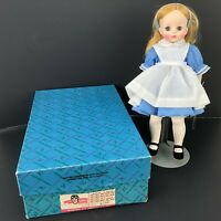 "Vintage Madame Alexander Alice in Wonderland Doll Box Hang Tag+ Shoes 12"" 1960s"