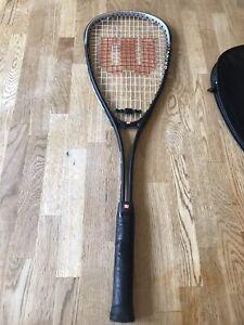 Wilson Squash Racquet Smash Titanium Series