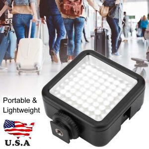 Mini 49 LED Video Camera Flash Fill-light Panel Lamp for Canon Nikon Pentax mo