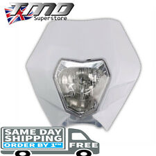 KTM Universal Headlight Motorcycle Enduro Light Motorbike Bike Pitbike E Marked