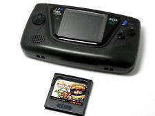"""SEGA LCD Handheld Game """"Game Gear"""" w/ Ayrton Senna's Super Monaco GP II"""