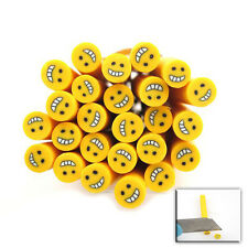 20x 250028 Yellow Flower Polymer Clay Fimo Rods Cane Decoration Jewelry Making
