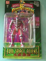 "1994 Bandai 5.5"" MMPR Evil Space Aliens Evil Light Lord Zedd Figure"