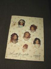 1997 Puppen Kinder Catalog By Annette Himstedt oh so nice!