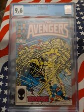 Avengers Vol 1986 #257 CGC 9.6 1st appearance Nebula