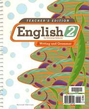 BJU English 2 Teacher's Edition with CD Second Edition - 2nd Grade