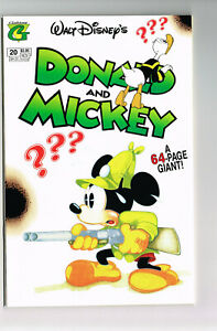 WALT DISNEY'S DONALD AND MICKEY #20 GLADSTONE COMICS 1993 NM+ GOOFY KING MIDAS