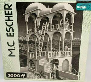 M C Escher 1000 Piece Jigsaw Puzzle Belvedere Challenging