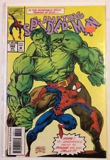 MARVEL COMICS THE AMAZING SPIDER-MAN 382 hulk emerald rage 1993