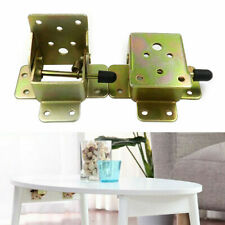 UK Foldable Locking Table Chair Leg Brackets Hinge Self Lock Hinges 45*55*42mm