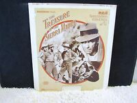 CED VideoDisc The Treasure of the Sierra Madre (1975) Black and White, UA Presen