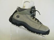 New listing Timberland Gray Leather Laces Ankle Hiking Shoes Boots Mens Size 10.5 M