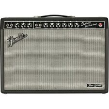 Fender Tone Master Deluxe Reverb 100W 1x12 Guitar Combo Amp Black LN