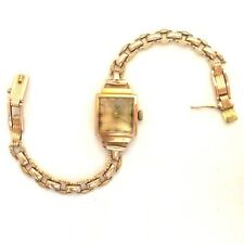 Russian Made Ladies Watch Luch-Zaria Rare USSR Brand Vintage 583(14K) Rose Gold