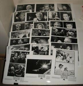 1994  STAR TREK GENERATIONS LOT of 21 PROMO MOVIE PHOTOS SHATNER STEWART SCI FI
