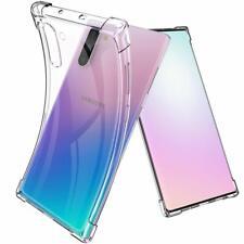 Samsung Galaxy Note 10 Hülle Schutzhülle Durchsichtig Case Bumper Transparent