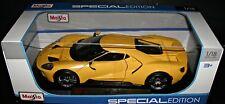 2017 FORD GT RACE CAR 1:18 SCALE DIECAST METAL SPECIAL EDITION MAISTO NIB