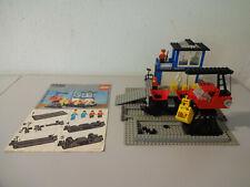 ( GO ) Lego 7838 Frachtverladedepot mit Wagen Eisenbahn Mit BA 12Volt GEBRAUCHT
