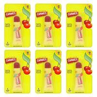 Carmex Moisturising Lip Balm Tube SPF15 Cherry 10g - 6 Pack