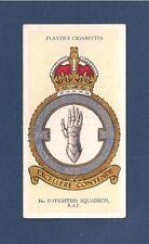 No 17 SQUADRON  RAF Fighter Squadron BADGE formed RFC GOSPORT 1916  1937 card