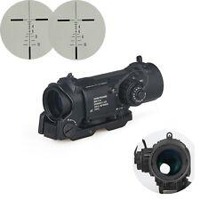 4x Fixed Dual Role Optic Tactical Rifle Scope/ Airsoft Scope/ Magnificate Scope