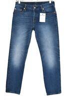 Womens Levis 501 ct Relaxed Tapered Boyfriend Dark Blue Crop Jeans 6 W25 L30