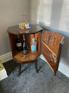 antique Strongbow Hexagonal Cocktail Cabinet, Unit