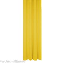 Wirth SINGLE Dim Blackout Curtain Panel YELLOW 180cm L x 145cm W