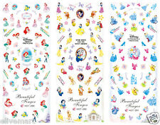 3in1 Princess Style Nail Art Stickers Beautiful Design Nail Art Accessories