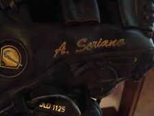 Game Used Alfonso Soriano Second Baseman Glove Yankees Cubs