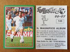SUPERCALCIO 1996 1997 96 97 n 144 LUIGI DI BIAGIO Figurina Sticker Panini NEW