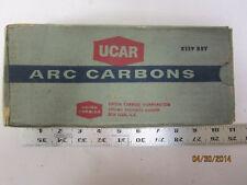 """UCAR National Negative Carbon Cinema Arc Rods  3/8""""  x 9""""  50pc"""