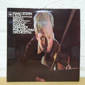 72612 LALO/BRUCK Symphony Espagnole Violin Con STERN ORMANDY  CBS STEREO LP NM