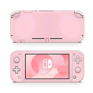 Nintendo Switch Lite Skin Decal Sticker Love Pink Rose Pastel White Milky Custom