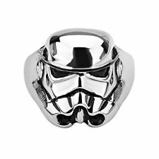 Storm Trooper Stainless Steel Star Wars Ring