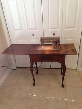 Singer 301A Sewing Machine Cabinet, Attachments, Booklet Free Shipping.