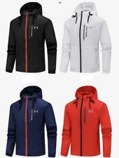 Men's Under Armour UA Overlook Jacket Wind Breaker outdoor sports coat hooded