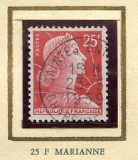 STAMP / TIMBRE FRANCE OBLITERE N° 1011C MARIANNE DE MULLER