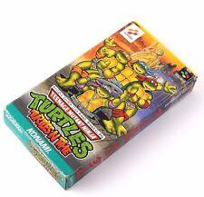 Teenage mutant Ninja Turtles In Time Super Famicom Nintendo  System Japan