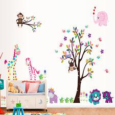 Vinilos decorativos infantiles árbol y elefante corazones .DOCLIICK DC-DF5099-17